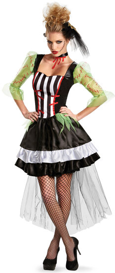 Monsterous Bride Adult Costume