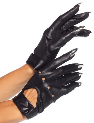 Motorcycle Gloves with Claw Fingers