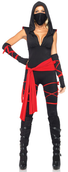 Sexy Deadly Lady Ninja Costume