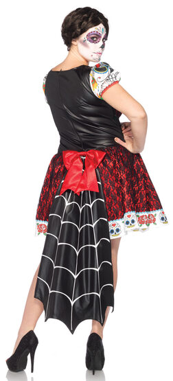 Darling Skeleton Dia de los Muertos Plus Size Costume