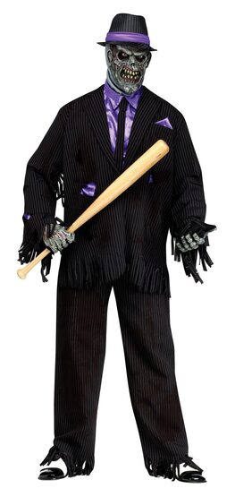 Don of the Dead Zombie Gangster Adult Costume