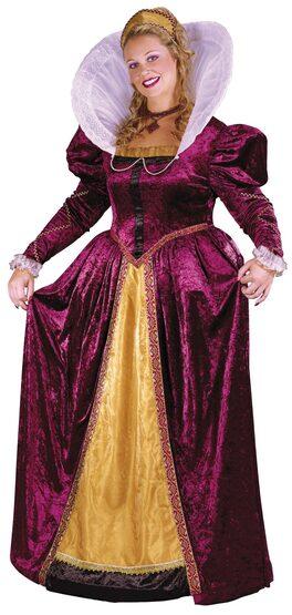 Elizabethan Queen Plus Size Costume