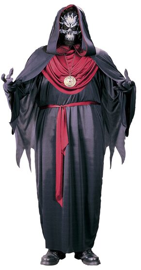 Emperor of Evil Scary Plus Size Costume