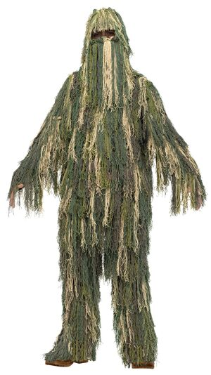 Army Camoflauge Gillie Suit Kids Costume