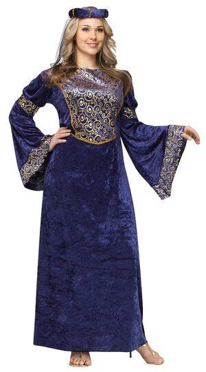 Medieval Renaissance Maiden Plus Size Costume