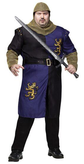 Medieval Renaissance Knight Plus Size Costume
