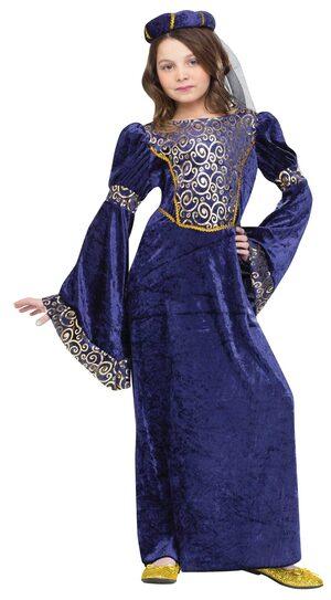 Girls Renaissance Maiden Kids Costume