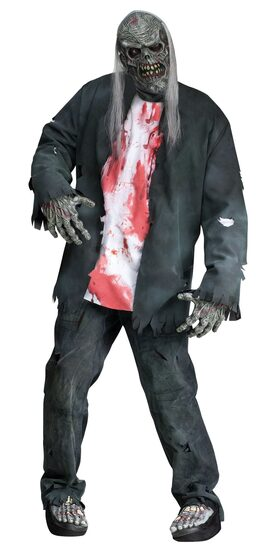 Rotted Zombie Adult Costume