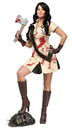 Sexy Rogue Zombie Hunter Costume