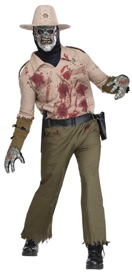 Zombie Sheriff Adult Costume