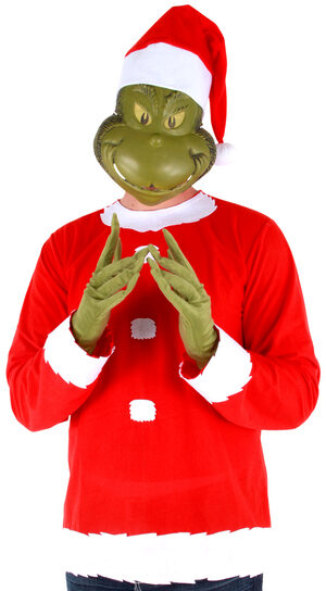 Dr Seuss Grinch Funny Adult Costume