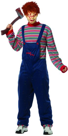 Mens Scary Chucky Adult Costume