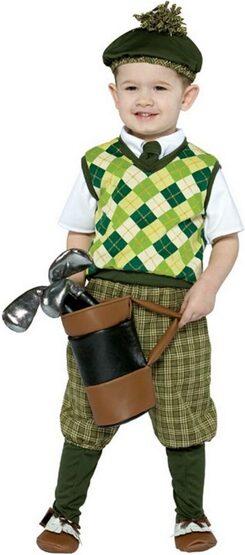 Future Golf Pro Funny Kids Costume