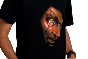 Scary Animated Eyeball T-Shirt