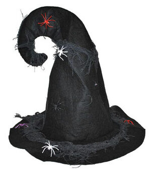 Spiders and Cobwebs Witches Hat