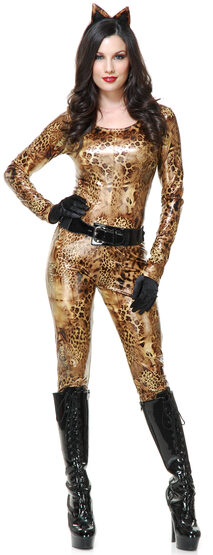 Sexy Cougar Wild Cat Costume