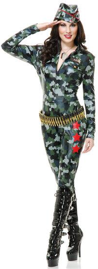 Sexy Camoflauge Cutie Military Costume
