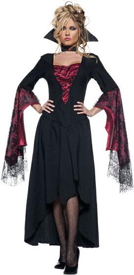 Womens Countess Adult Vampiress Costume