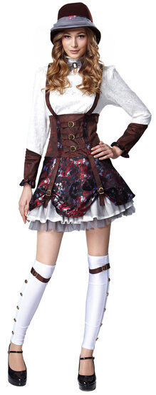 Steampunk Lady Historical Adult Costume