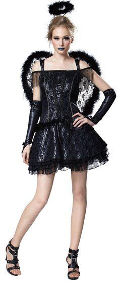Sexy Angelina Dark Angel Costume