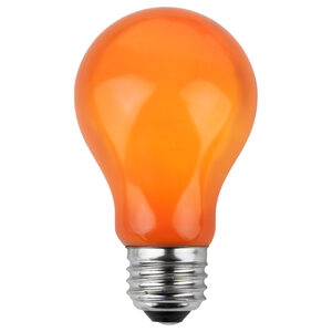 A19 Orange Opaque Replacement Bulbs