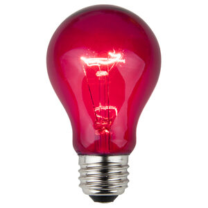 A19 Purple Transparent Replacement Bulbs