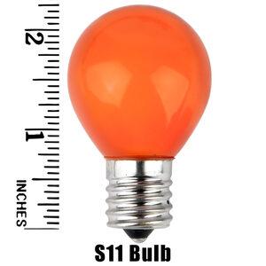 S11 Orange Opaque Replacement Bulbs
