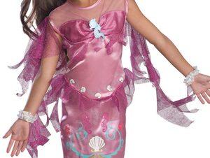 Pink Mermaid Kids Costume