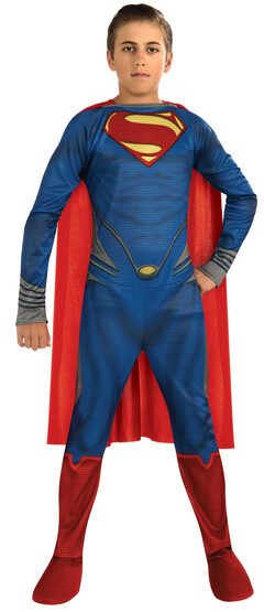 Man of Steel Superman Kids Costume