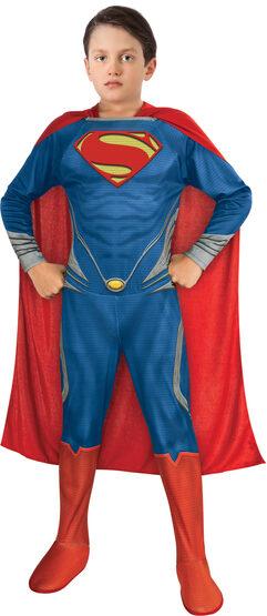 Boys Man of Steel Superman Kids Costume