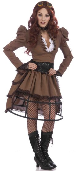 Victorian Vicky Steampunk Adult Costume