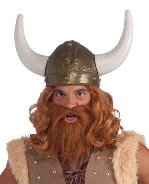 Brass Viking Helmet