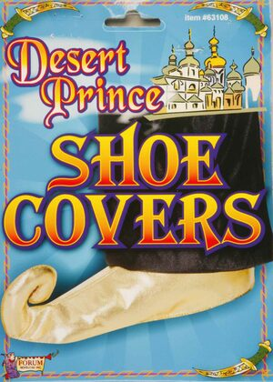 Gold Sultan Prince Shoe Covers