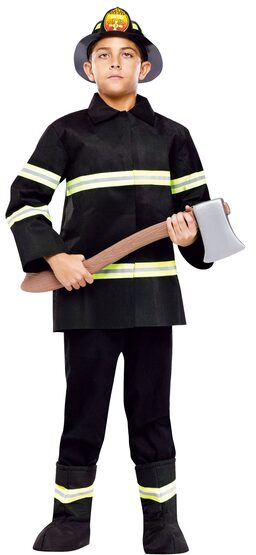 Chief Firefighter Kids Costume