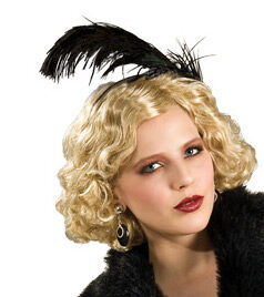 20s Flapper Girl Headpiece