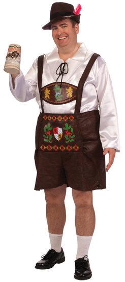 Bavarian Guy Oktoberfest Plus Size Costume
