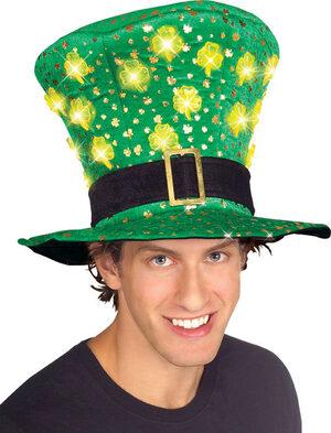 St. Patricks Light Up Hat