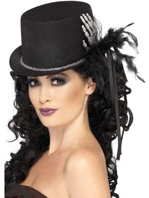 Skeleton Hand Top Hat