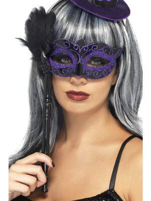 Feathered Masquerade Mask