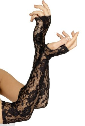 Gothic Lace Gloves