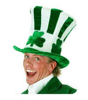 Shamrock Uncle Sam Irish Hat