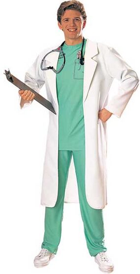 Adult Lab Coat Doctor Costume