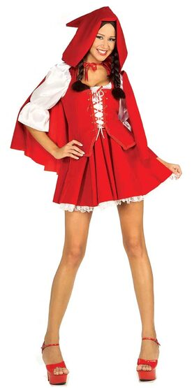 Sexy Red Riding Hood Fairytale Costume