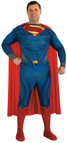 Man of Steel Superman Plus Size Costume