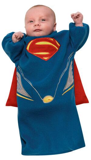 Man of Steel Bunting Superman Baby Costume