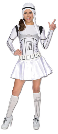 Sexy Womens Stormtrooper Star Wars Costume