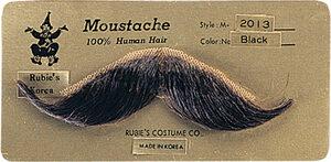 Handlebar Western Moustache