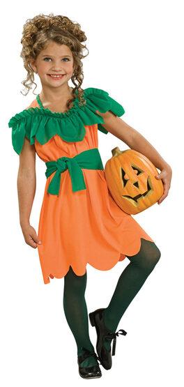 Pumpkin Princess Kids Costume
