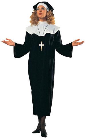 Womens Adult Nun Costume