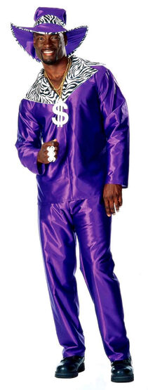 Mac Daddy Adult Pimp Costume